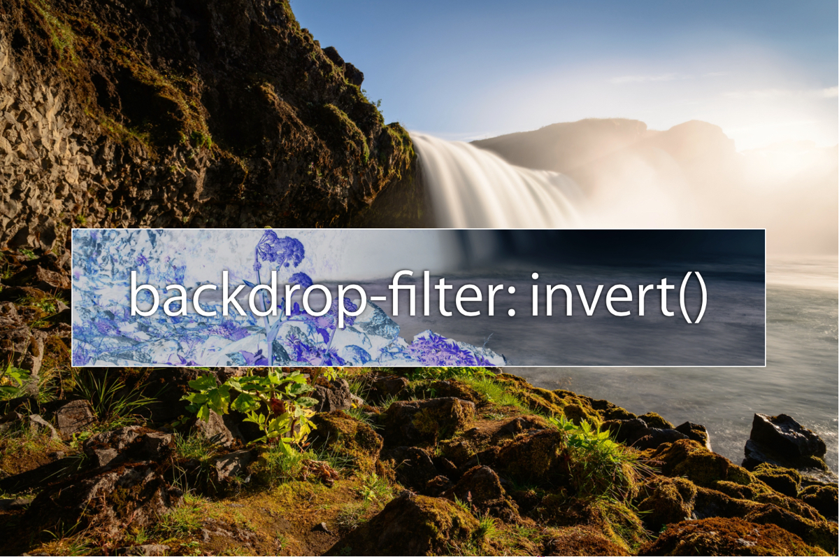 backdrop-filter-invert