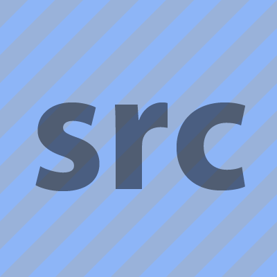 Example of the srcset attribute. The image contains a coloured striped pattern with some inline text that indicates which of the candidate images were selected.